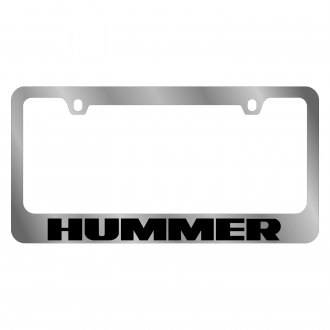 Eurosport Daytona® - GM Chrome License Plate Frame with Hummer Logo