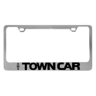 Eurosport Daytona® - Ford Motor Company License Plate Frame with Town Car Logo & Word