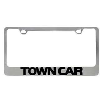 Eurosport Daytona® - Ford Motor Company License Plate Frame with Town Car Word Only