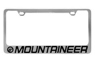 Eurosport Daytona® - Ford Motor Company License Plate Frame with Mountaineer Logo & Word