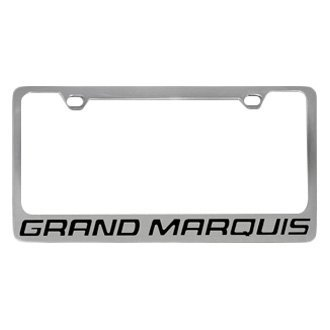 Eurosport Daytona® - Ford Motor Company License Plate Frame with Grand Marquis Word Only