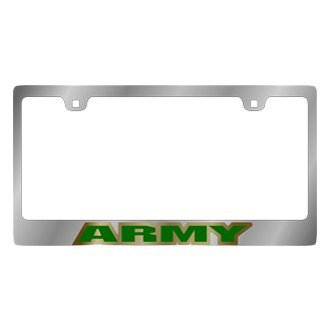 Eurosport Daytona® - LSN License Plate Frame with Us Army Logo