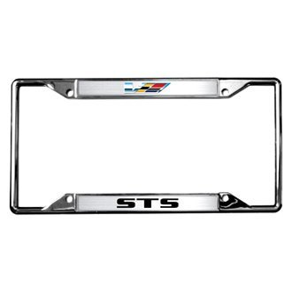 Eurosport Daytona® - GM Chrome License Plate Frame with STS V-series Logo