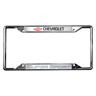 Eurosport Daytona® - GM License Plate Frame with Super Sport Logo