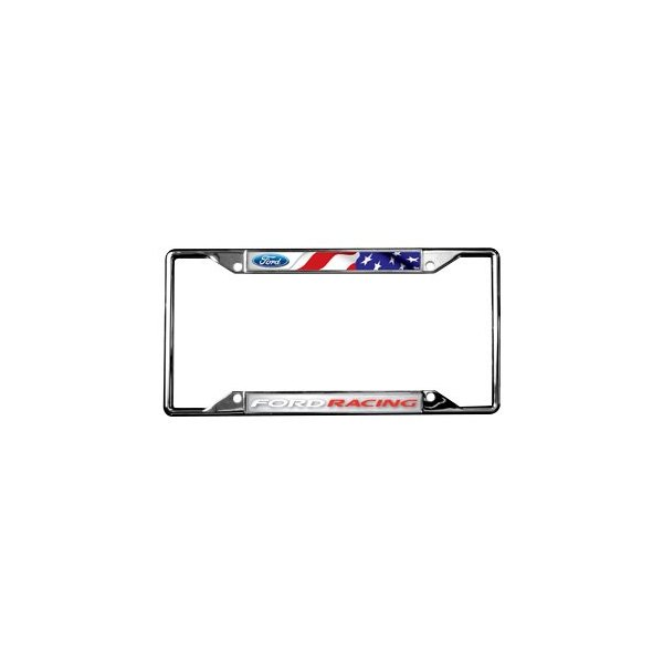 Eurosport Daytona® - Ford Motor Company 4-Hole Chrome License Plate ...