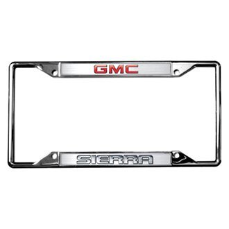 Eurosport Daytona® - GM License Plate Frame with GMC Sierra Logo