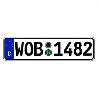 Eurosport Daytona® - Germany, Wolfsburg Authentic EEC Europlate™