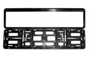 Eurosport Daytona® - Black Frame for EEC License Plates