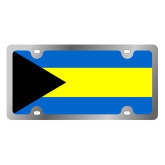 Eurosport Daytona® - International Flag License Plate with Bahamas Logo