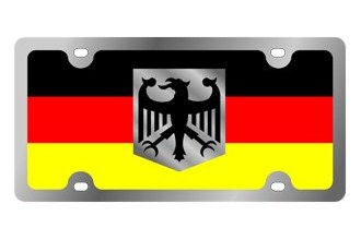 Eurosport Daytona® - International Flag License Plate with Germany Logo