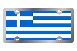Eurosport Daytona® - International Flag License Plate with Greece Logo