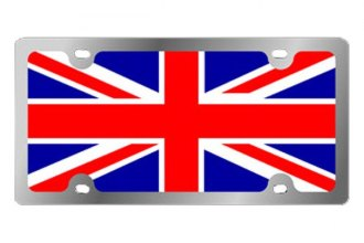 Eurosport Daytona® - International Flag License Plate with Great Britain Logo