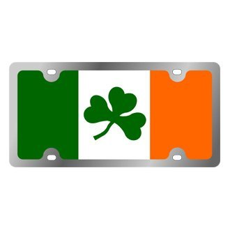 Eurosport Daytona® - International Flag License Plate with Ireland Logo