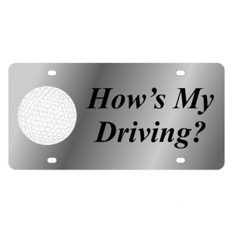 Eurosport Daytona® - LSN License Plate with How's My Driving Logo