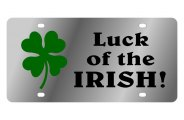 Eurosport Daytona® - Luck of the Irish LSN Series License Plate