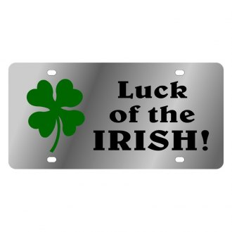 Eurosport Daytona® - LSN License Plate with Luck of the Irish Logo