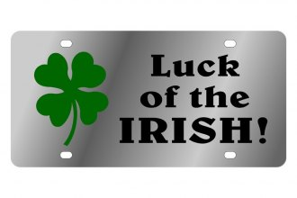 Eurosport Daytona® - LSN - License Plate with Luck of the Irish Logo