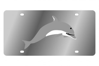 Eurosport Daytona® - LSN - License Plate with Dolphin Logo