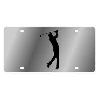 Eurosport Daytona® - LSN License Plate with Golf Man Logo
