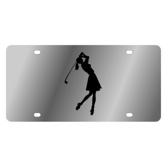 Eurosport Daytona® - LSN License Plate with Golf Woman Logo