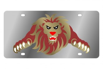 Eurosport Daytona® - LSN - License Plate with Lion Logo