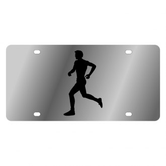 Eurosport Daytona® - LSN License Plate with Runner Logo