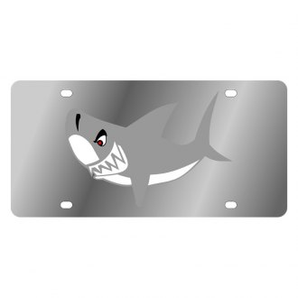 Eurosport Daytona® - LSN License Plate with Shark Logo