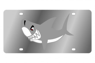 Eurosport Daytona® - LSN - License Plate with Shark Logo