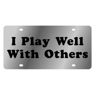 Eurosport Daytona® - LSN License Plate with I Play Well with Others Logo