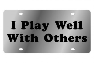 Eurosport Daytona® - LSN - License Plate with I Play Well with Others Logo