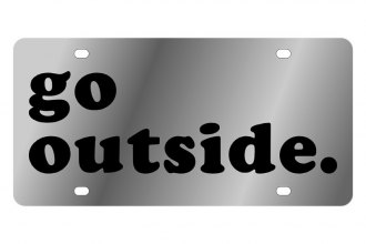 Eurosport Daytona® - LSN License Plate with Go outside Logo