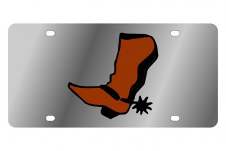 Eurosport Daytona® - LSN - License Plate with Cowboy Boot Logo