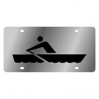 Eurosport Daytona® - LSN License Plate with Rowing Logo
