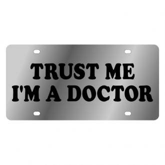 Eurosport Daytona® - LSN License Plate with Trust Me I'm A Doctor Logo