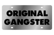Eurosport Daytona® - Original Gangster LSN Series License Plate