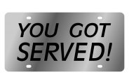 Eurosport Daytona® - You Got Served! LSN Series License Plate