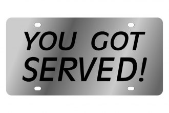 Eurosport Daytona® - LSN License Plate with You Got Served! Logo