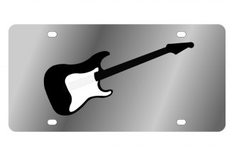 Eurosport Daytona® - LSN License Plate with Guitar Logo