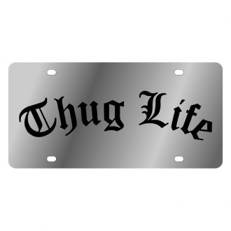 Eurosport Daytona® - LSN License Plate with Thug Life Logo