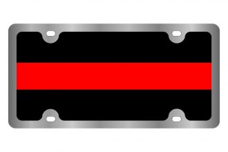 Eurosport Daytona® - LSN License Plate with Fallen Firefighter Logo