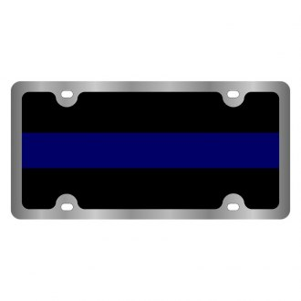 Eurosport Daytona® - LSN License Plate with Fallen Police Officer Logo
