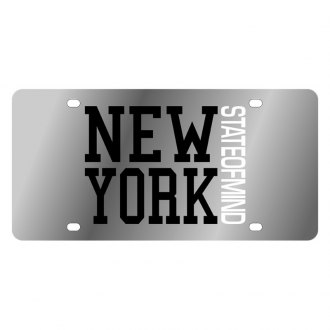Eurosport Daytona® - LSN License Plate with New York State Of Mind Logo