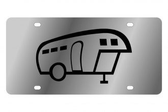 Eurosport Daytona® - LSN License Plate with Camper Logo