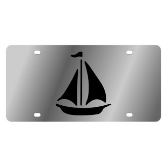 Eurosport Daytona® - LSN License Plate with Sailboat Logo