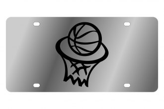 Eurosport Daytona® - LSN License Plate with Basketball Hoop Logo