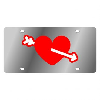 Eurosport Daytona® - LSN License Plate with Cupid Heart Logo