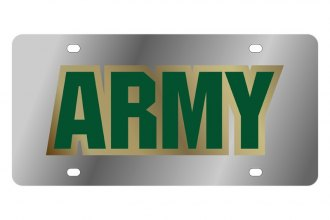 Eurosport Daytona® - LSN License Plate with US Army Logo