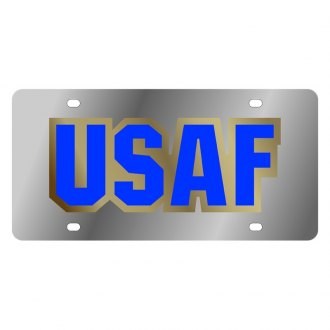 Eurosport Daytona® - LSN License Plate with U.S. Air Force Logo