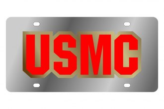 Eurosport Daytona® - LSN License Plate with US Marines Logo