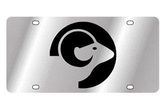 Eurosport Daytona® - Zodiac - License Plate with Aries Logo